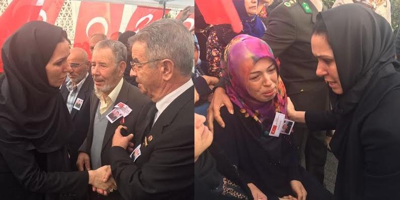 Milletvekili Karaaslan Samsunlu Şehit Ailesini İstanbul'da yalnız bırakmadı