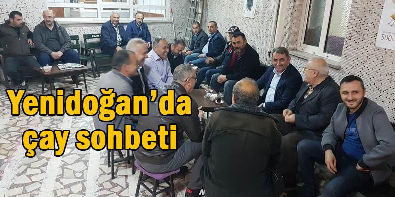 Milletvekili Köktaş Yenidoğan Mahallesi'nde