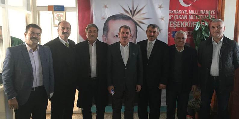 Milletvekili Köktaş, Adana'da ilçe temayül yoklamalarını gerçekleştirdi