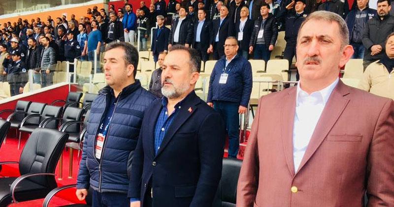 Milletvekili Köktaş Samsunspor'u Adana'da yalnız bırakmadı