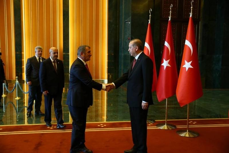 Milletvekili Köktaş, Cumhurbaşkanı Erdoğan'ın yanında!