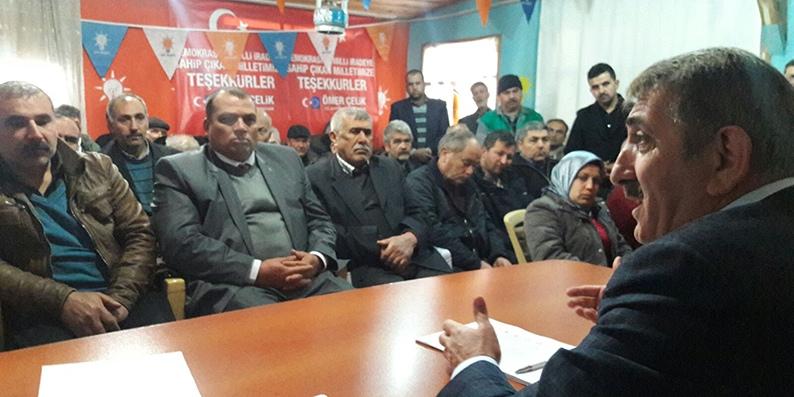Milletvekili Köktaş Adana'da teşkilat çalışmalarını sürdürüyor