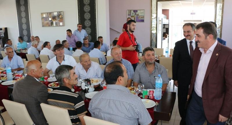 Milletvekili Köktaş Çarşamba Muhtarlar Derneği yemeğine katıldı