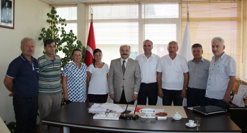 Milletvekili Usta'dan Türk Kızılayı Samsun şubesine ziyaret ve kurban bağışı