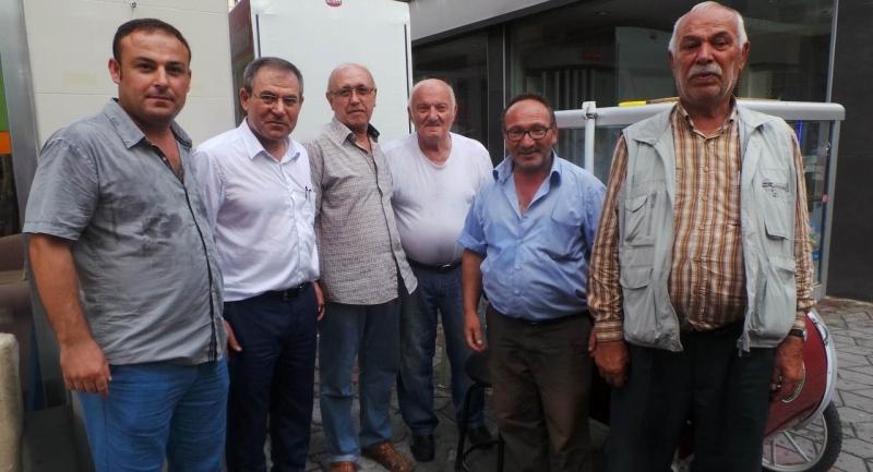 Milletvekili Zeybek Samsun'da nabız yokladı