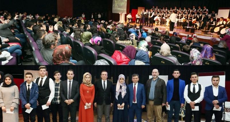 Milli Şair Mehmet Akif Ersoy Canik'te anıldı