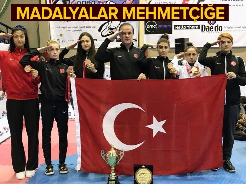 Millilerimizden Mısır Açık Tekvando Turnuvası'nda 5 madalya