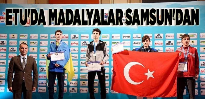 Minikler Avrupa Taekwondo Şampiyonası'nda Samsun damgası