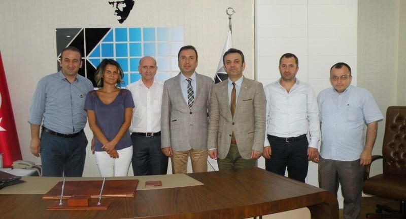 MMO Ahmet Dursunoğlu'nu makamında ziyaret etti
