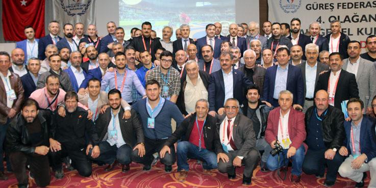 Musa Aydın Türkiye Güreş Federasyonu Başkanlığı'na Seçildi