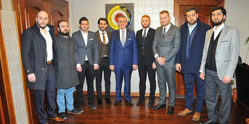 Musiad Başkan Murzioğlu'nu makamında ziyaret etti