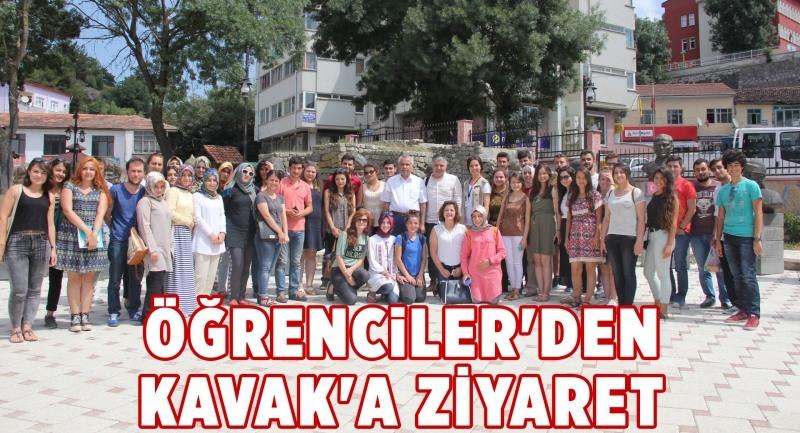 Öğrencilerden Kavak'a Ziyaret