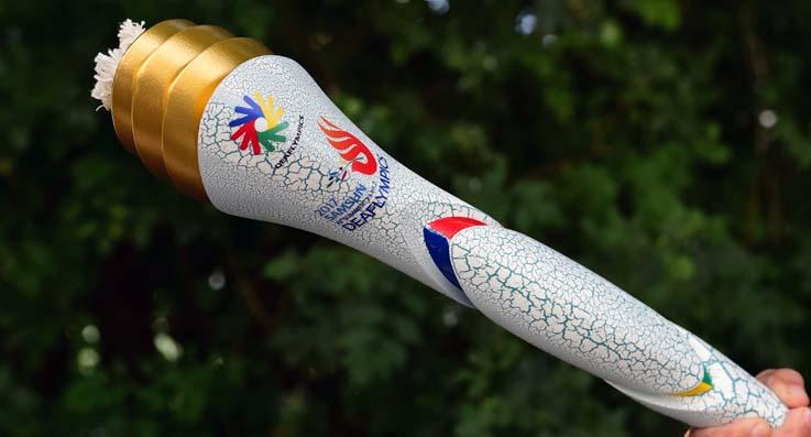 Olimpiyat ateşi Samsun'a doğru yola çıktı