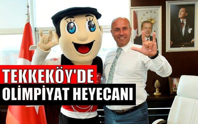 Olimpiyat Oyunu Maskotu Çakır'dan Hasan Togor'a Ziyaret