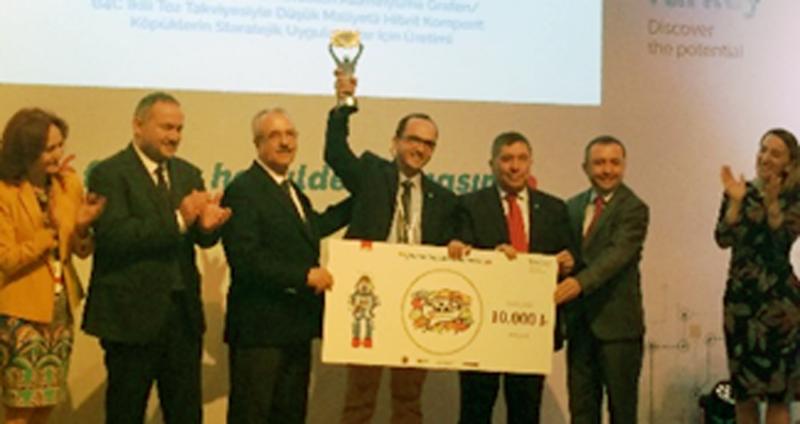 OMÜ Öğretim Üyesi'ne Proje Ödülü