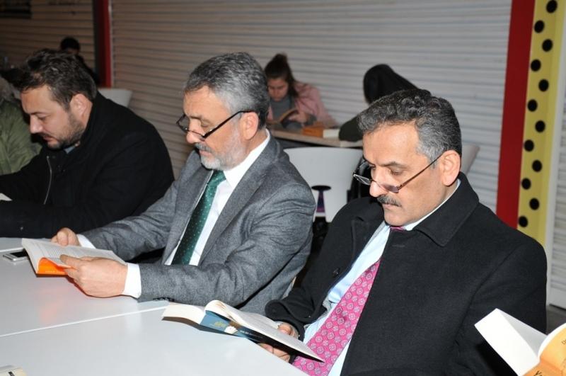 OMÜ'de okuma etkinliği gerçekleştirildi