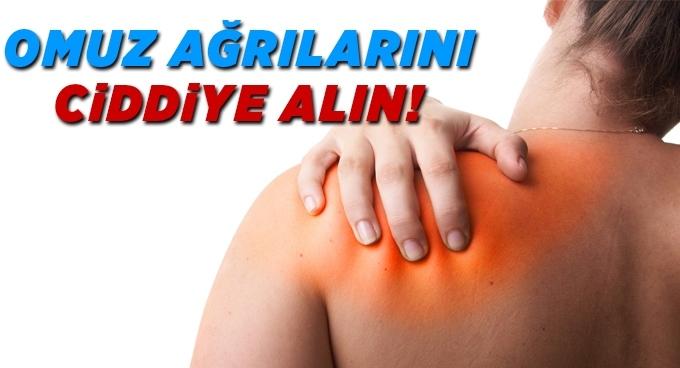 Omuz ağrılarını ciddiye alın!