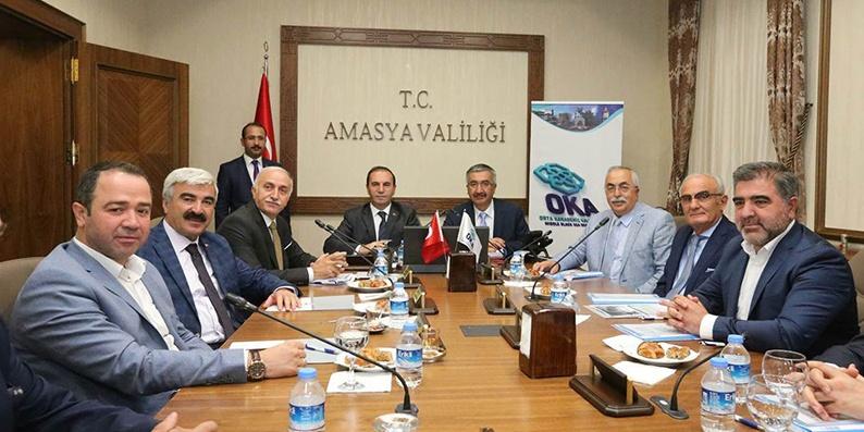 Orta Karadeniz Kalkınma Ajansı Temmuz ayı yönetim kurulu toplantısı Amasya'da yapıldı