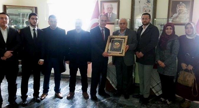 Osmanlı Diriliş Ocakları Genel Merkezinden Filistin'e Destek