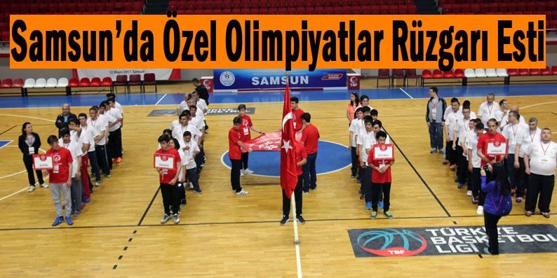 Özel Olimpiyatlar Türkiye Pilot Projesi Kapanış Etkinliği Samsun'da yapıldı