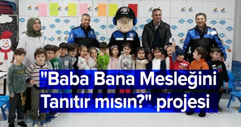 Polisler öğrencilere görevlerini anlattı