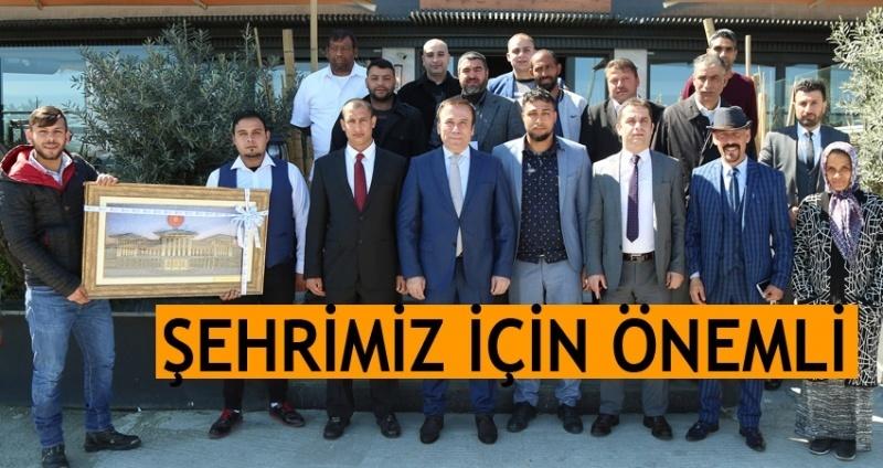 Romanlar'dan Başkan Genç'e teşekkür