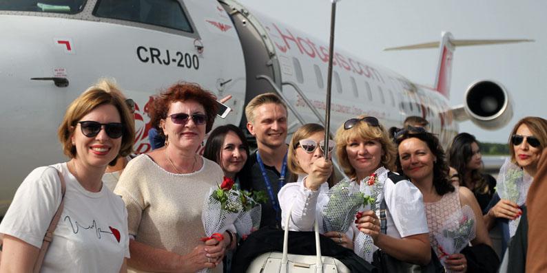 Rusya ile Samsun arasındaki uçuşlar başladı