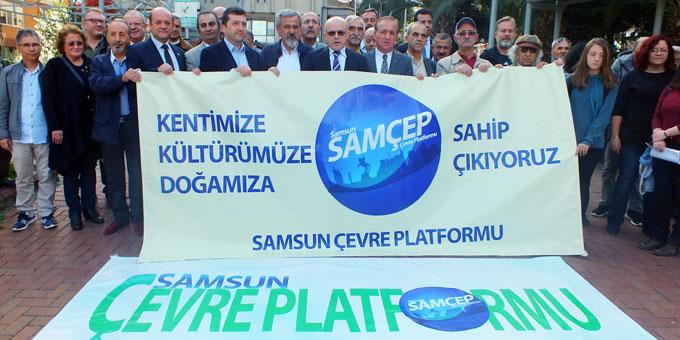 SAMÇEP'ten basın açıklaması; Samsun'un sahibi var