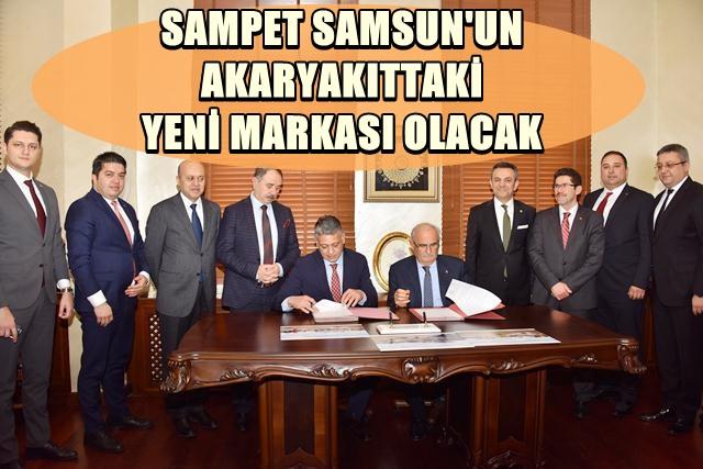 Sampet İçin Protokol İmzalandı