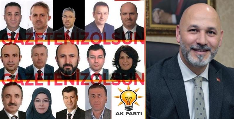 Samsun AK Parti'de başkan yardımcılıkları belli oldu