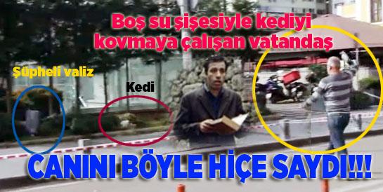 Samsun Bulvar AVM önünde bomba paniği!