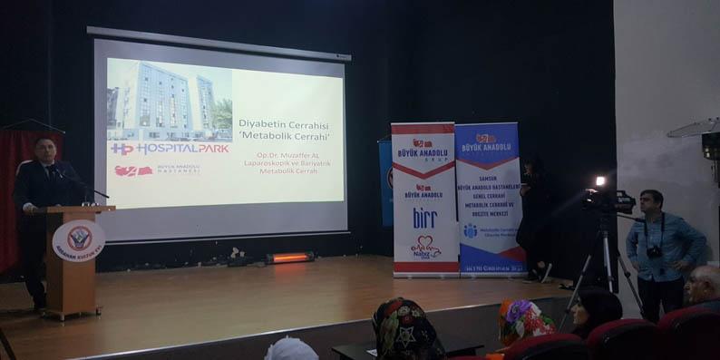 Samsun Büyük Anadolu Hastaneleri'nden İstanbul'da sağlık konferansı
