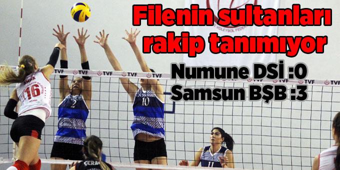 Samsun Büyükşehir Belediyesi Anakent Spor ligde nağmalup