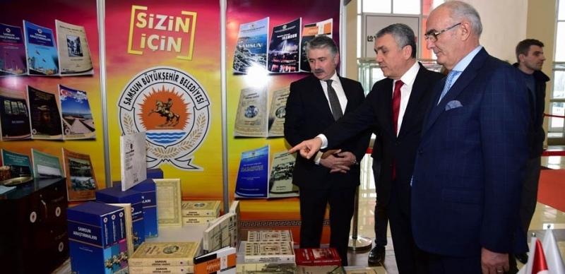 Samsun Büyükşehir Belediyesi Karadeniz 3. Kitap Fuarı'nda