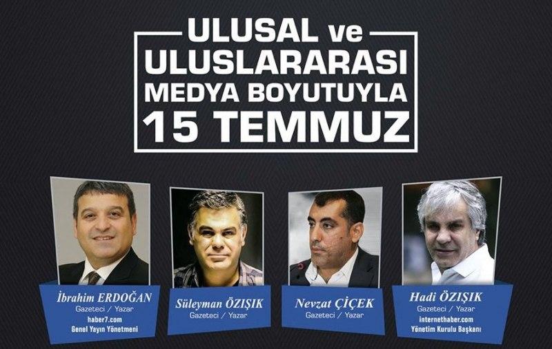 Samsun Büyükşehir Belediyesi'nden '15 Temmuz' konulu konferans!