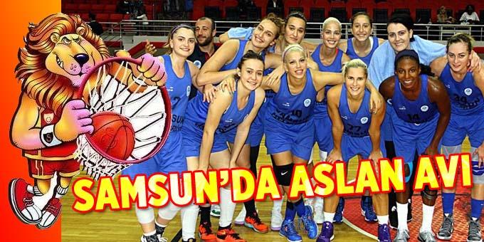 Samsun Canik Belediyespor Galatasaray'ı ağırlıyor