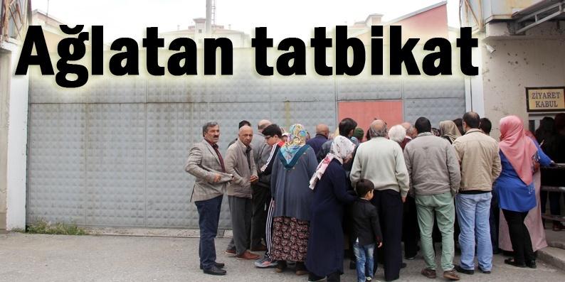 Samsun Cezaevi'nde acil durum tatbikatı