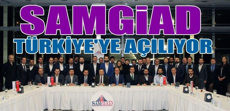 Samsun Genç İşadamları Türkiye'ye açılıyor
