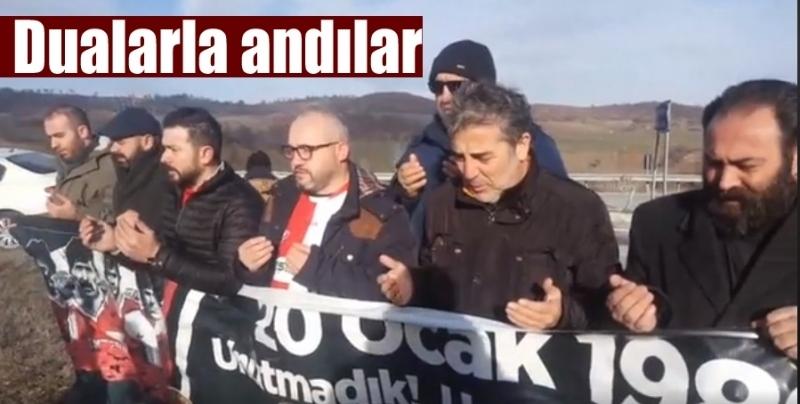 Samsun İnternet Gazetecileri Cemiyeti Futbol Şehitlerini Havza'da andı