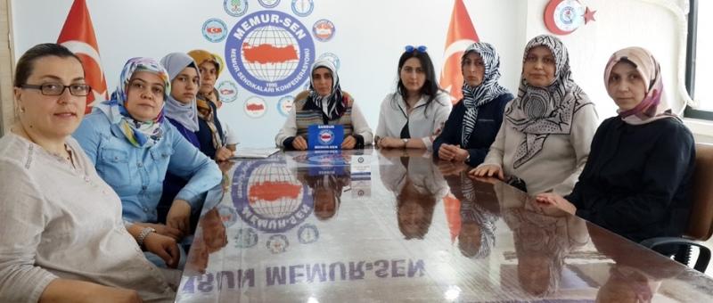 Samsun Memur-Sen Kadınlar Komisyonu'ndan açıklama
