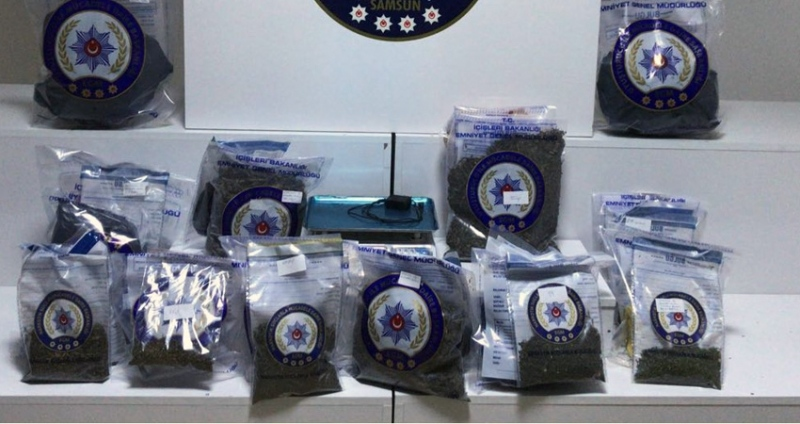 Samsun ve İstanbul'daki uyuşturucu operasyonu