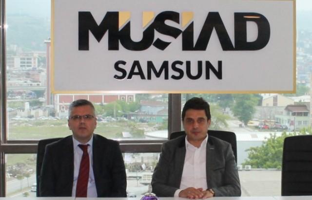 Samsun Vergi Dairesi Başkanlığı  MÜSİAD  Ziyareti