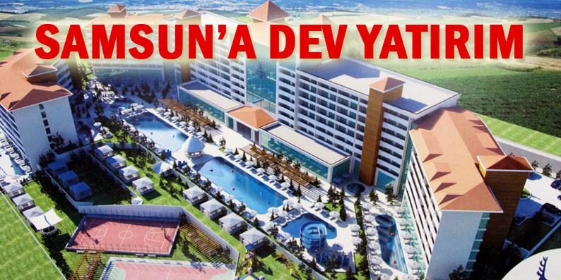 Samsun'a 100 milyon liralık termal otel