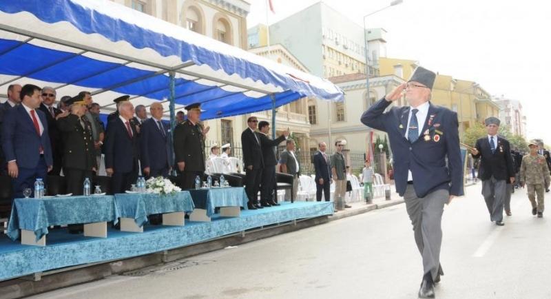 Samsun'da '19 Eylül Gaziler günü' kutlandı