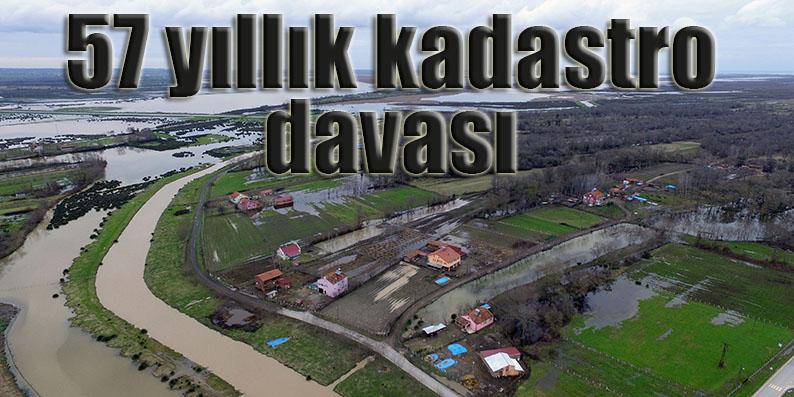 Samsun'da 57 yıllık kadastro davası devam ediyor