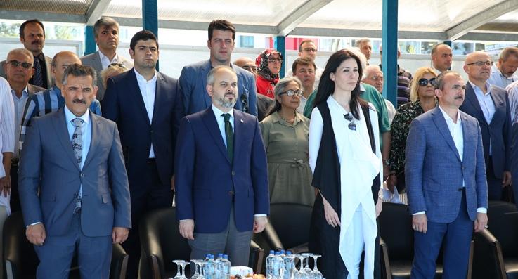 Samsun'da 7 plajda mavi bayrak oldu