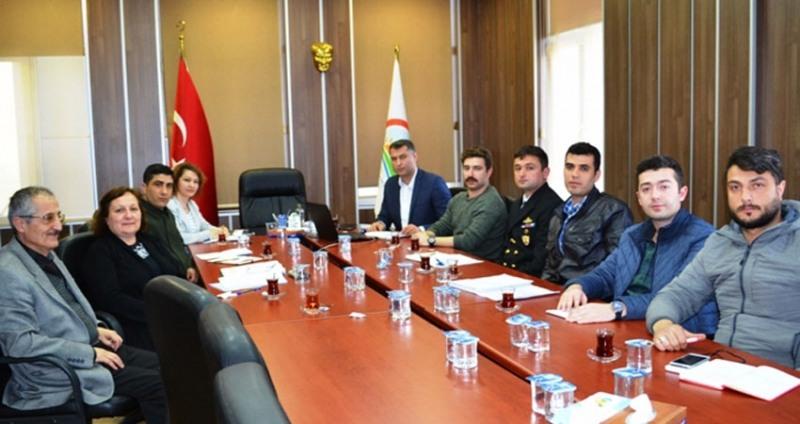 Samsun'da Askeri Protokol Toplantısı
