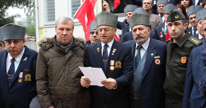 Samsun'da Gaziler Askerlik Şubesine koştu