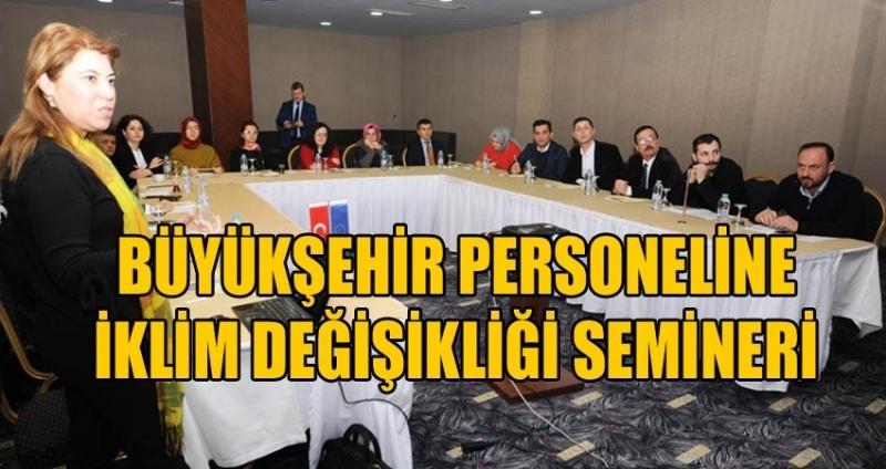 Samsun'da iklim değişikliği semineri