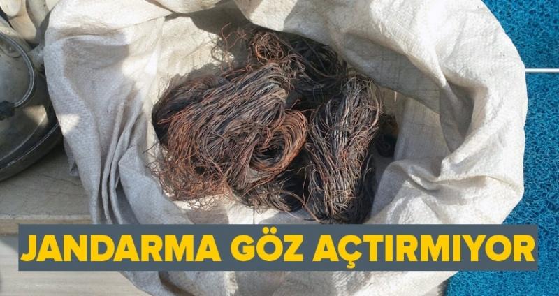 Samsun'da kablo hırsızları yakalandı